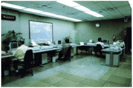 Communication center operation room